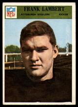1966 Philadelphia #151 Frank Lambert VG Very Good  ID: 122072
