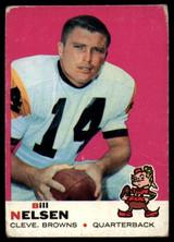 1969 Topps #52 Bill Nelsen Very Good