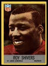 1967 Philadelphia #164 Roy Shivers Very Good RC Rookie ID: 141548