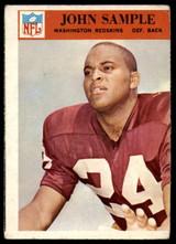 1966 Philadelphia #191 Johnny Sample VG Very Good  ID: 122108
