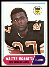 1968 Topps #56 Walter Roberts VG Very Good  ID: 128257