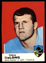 1969 Topps #129 Steve DeLong Very Good  ID: 148049
