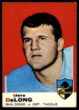1969 Topps #129 Steve DeLong Very Good  ID: 148050