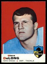 1969 Topps #129 Steve DeLong Very Good  ID: 148051