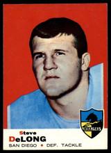 1969 Topps #129 Steve DeLong Very Good  ID: 148054