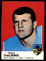 1969 Topps #129 Steve DeLong Very Good  ID: 148056