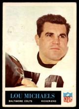 1965 Philadelphia #7 Lou Michaels Very Good