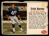 1962 Post Cereal #16 Erich Barnes Poor