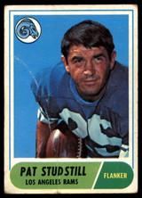 1968 Topps #156 Pat Studstill G-VG
