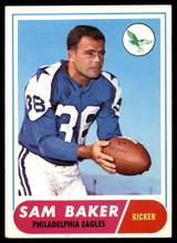 1968 Topps #32 Sam Baker Very Good