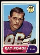1968 Topps #30 Ray Poage Good