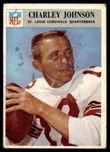 1966 Philadelphia #163 Charley Johnson G Good