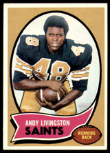 1970 Topps #46 Andy Livingston Very Good