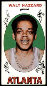 1969-70 Topps #27 Walt Hazzard EX RC Rookie ID: 54805