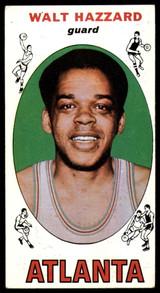 1969-70 Topps #27 Walt Hazzard EX RC Rookie ID: 54806