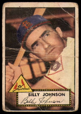 1952 Topps #83 Billy Johnson P ID: 53786