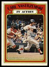 1972 Topps #38 Carl Yastrzemski IA EX/NM ID: 77856