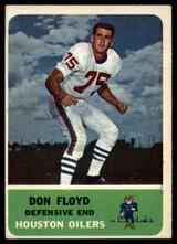 1962 Fleer #54 Don Floyd EX/NM