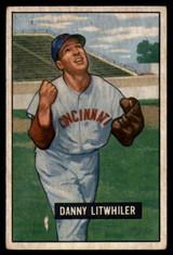 1951 Bowman #179 Danny Litwhiler G/VG