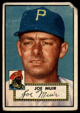 1952 Topps #154 Joe Muir P RC Rookie