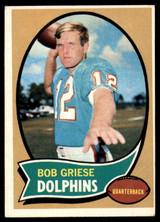 1970 Topps #10 Bob Griese VG