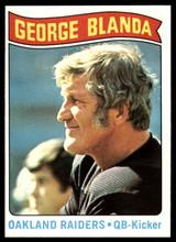 1975 Topps #7 George Blanda Black Jersey HL NM Near Mint  ID: 95870