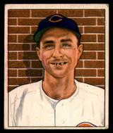 1950 Bowman #197 Johnny Wyrostek VG