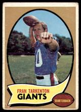 1970 Topps #80 Fran Tarkenton VG ID: 78729