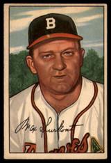 1952 Bowman #12 Max Surkont VG Very Good RC Rookie ID: 92601