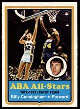 1973-74 Topps #200 Billy Cunningham NM+  ID: 93122