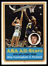 1973-74 Topps #200 Billy Cunningham NM+  ID: 93123