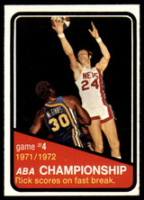1972-73 Topps #244 ABA Playoffs Game 4 NM ID: 78021