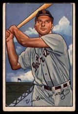 1952 Bowman #39 Vic Wertz VG Very Good