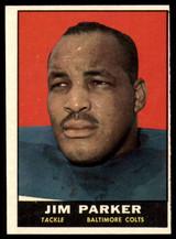 1961 Topps #6 Jim Parker NM ID: 74878