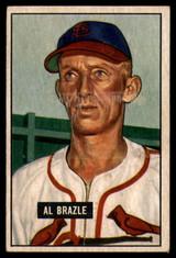 1951 Bowman #157 Al Brazle G