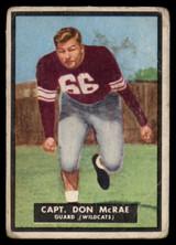 1951 Topps #49 Don McRae G