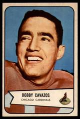 1954 Bowman #36 Bobby Cavazos EX/NM ID: 70273