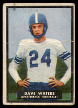 1951 Topps #58 Dave Waters G