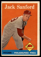 1958 Topps #264 Jack Sanford EX