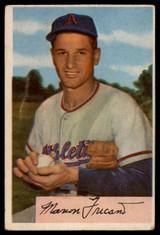 1954 Bowman #3 Marion Fricano VG ID: 80094