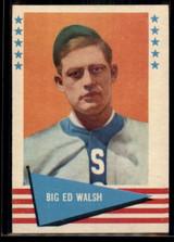 1961 Fleer #83 Big Ed Walsh NM+ ID: 50718