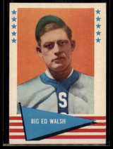 1961 Fleer #83 Big Ed Walsh NM++
