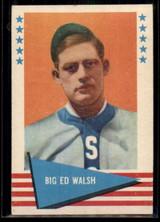 1961 Fleer #83 Big Ed Walsh NM ID: 50721
