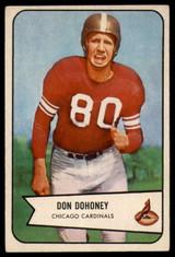 1954 Bowman #24 Don Dohoney EX++ Excellent++  ID: 96302