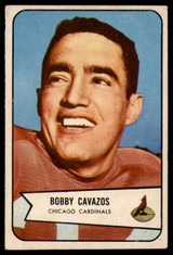 1954 Bowman #36 Bobby Cavazos EX++ Excellent++  ID: 96318