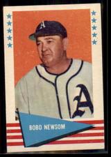 1961 Fleer #67 Bobo Newsom NM
