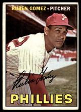 1967 #427 Ruben Gomez Phillies EX
