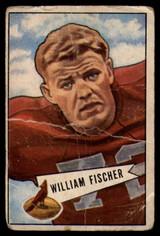 1952 Bowman Small #47 Bill Fischer P Poor