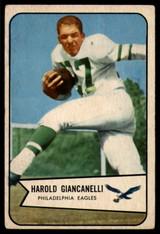 1954 Bowman #33 Harold Giancanelli EX Excellent