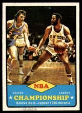 1973-74 Topps #68 Knicks Champs EX/NM ID: 52860